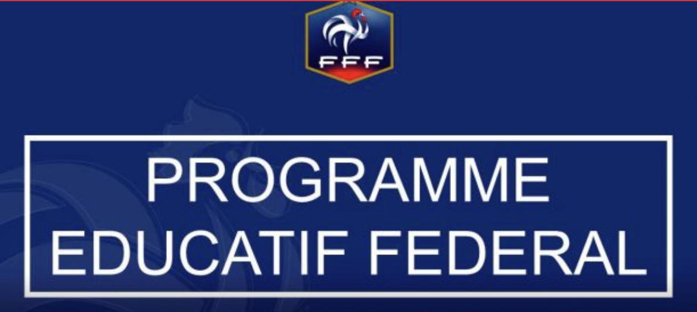 Intégrer les actions du club dans le Programme Éducatif Fédéral