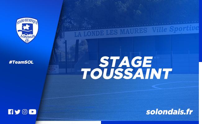Stage Toussaint - Jour 1